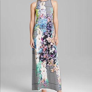 Clover Canton Enchanted Garden Jersey Maxi Dress